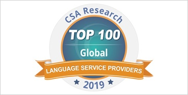 CSA TOP 100 LSP in the World - 2019