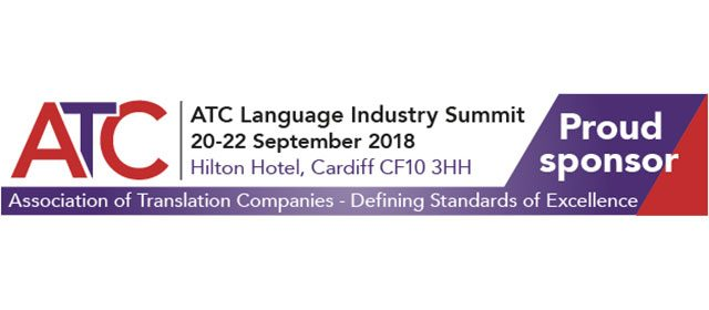Meet us at ATC Language Industry Summit