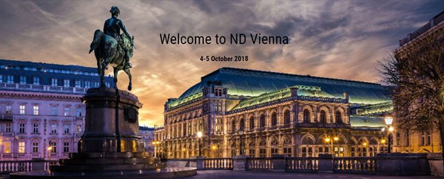Meet us at ELIA ND – Vienna, Austria