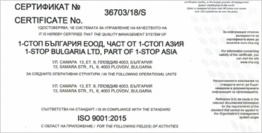 ISO Recertification 9001:2015