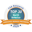CSA TOP 30 in North America 2020