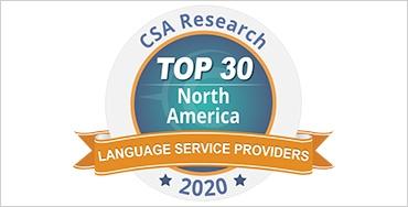 CSA TOP 30 in North America 2020